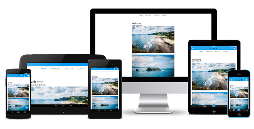 Modern, Responsive, Customizable – Jimdo's Templates are Real Winners