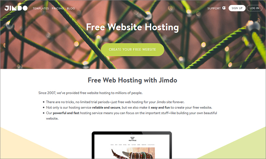 Free domain and free hosting, but no export option – dampening building spirits