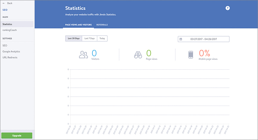 Jimdo's Analytics Tools And Features – Helping You Make Sense of Traffic Stats