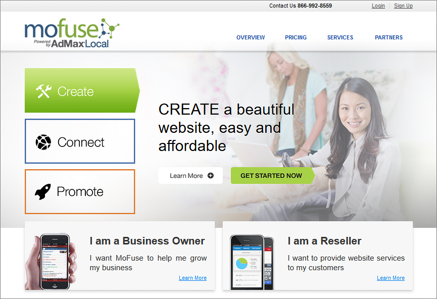 MoFuse – create mobile site